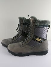 COOGI Boots Faux Fur Mens Size 13 Gray & Black Style#CMF202 Faded from Storage