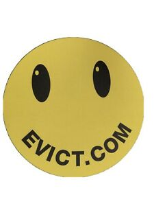 """Smiley Face Happy Face Computer Mouse Pad 8-1/2"""" Soft Advertisement"""