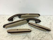BMW E46 3 series Coupe Walnut Wood & Tan Leather Interior Front & Rear Armrests