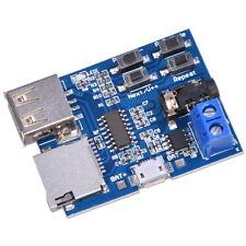 MP3 Decoder Audio Player Amplificatore Bordo U Disk/ SD TF Card Modulo USB 2W