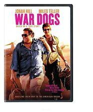 War Dogs DVD 2016 NEW