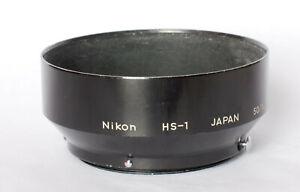 Nikon HS-1 lens hood for 50mm f1.4 lens