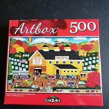 Artbox 500 Piece Jigsaw Puzzle  Sweet n' Sticky Honey Farm Colorful NIB