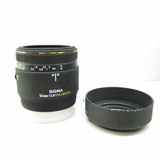 Sigma EX 50mm F/2.8 DG Macro Sony / Minolta Fit Lens -BB-