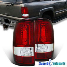 For 2000-2006 Chevy Denali Yukon Tahoe Tail Lights Brake Lamp Red