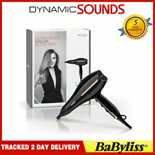 BaByliss 5552U Salon Pro 2200W 2 Speeds 3 Heat Settings Ionic Hair Dryer Black