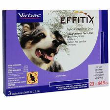 Virbac Effitix flea and tick 23-44.9 lb dog