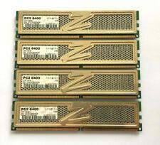 8GB (4 X 2GB) OCZ GOLD SERIES DDR2-800 (PC2-6400) DESKTOP PC RAM