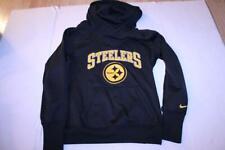 Women's Pittsburgh Steelers M Athletic Hoodie Hooded Sweatshirt Nike Therma-Fit