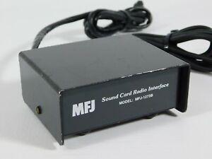 MFJ-1273B Ham Radio Sound Card Radio Interface (works well)