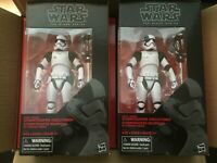 STAR WARS THE BLACK SERIES LOT OF SIX (6) FIRST ORDER STORMTROOPER EXECUTIONER
