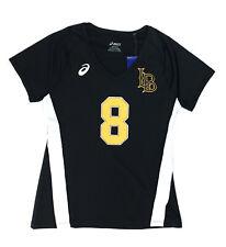 Asics LB Volleyball #8 Short Sleeve Performance Jersey Women's M Black S052A115
