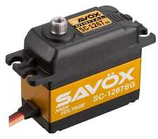 SAVSC1267SG Savox SC-1267SG Super Speed Steel Gear Digital Servo (High Voltage)