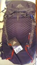 Gregory Optic 48 Medium Backpack Hiking Camping Scout Lava Grey 48 Liter