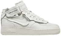 Nike Air Force 1 Mid Comme des Garcons White Size 8 Men's **CONFIRMED ORDER**