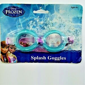 Disney Frozen Splash Goggles Blue Damaged Package