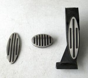 Genuine Used MINI Automatic Silver Metal Pedal Set for R50 R52 R53 - 6772709