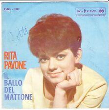 """7"""" RITA PAVONE CUORE/il ballo del mattone 60`s RCA ITALIANA pm45-3232"""