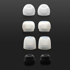 HIFIMAN Replacement Tips for RE-series earphone RE400/RE600 IEM (Black/White)