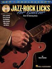 JAZZ/ROCK LICKS FOR GUITAR - FREEMAN, STEVE - NEW PAPERBACK BOOK