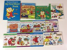 Richard Scarry 13 Board Book Lot