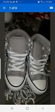 Women's CONVERSE ALL STARS ankle boot Hi tops size 4.5 grey wear 2 ways
