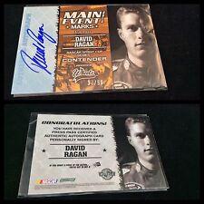 David Ragan 2010 Press Pass Wheels Main Event Marks Autograph 37/50