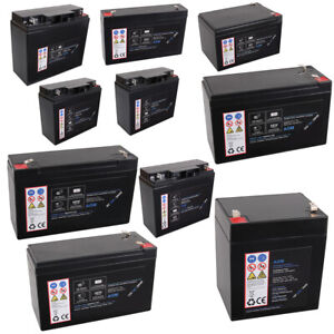 AGM Blei Akku Batterie 6V 12V 4,5Ah 7Ah 7,2Ah 9Ah 12Ah 15Ah 18Ah 20Ah 22Ah 20HR