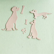 dog with bones scrapbook cutting dies metal die cuts for diy scrapbooking deQ7Y