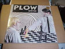 LP:  PLOW UNITED - self titled s/t  NEW UNPLAYED WHITE VINYL + download PUNK
