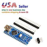 Mini USB Nano V3.0 ATmega328 CH340 5V 16MHz Micro-controller Board for Arduino