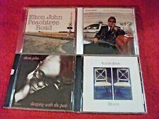 Lot of 4 Elton John CDs