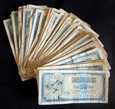 Yugoslavia 50 dinara 1965-1978-1986. - lot of 100 pcs
