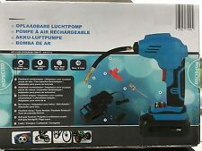 Ballpumpe Handkompressor Akku Kompressor 18V Fahradpumpe Reifenfüller