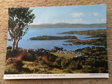 POSTCARD.BANTRY BAY,SHOWING GARINISH ISLAND GLENGARRIFF Co.CORK IRELAND.