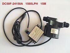 15M 1560LPH 24V DC Brushless Motor Water Pump Micro Solar Submersible Pump 86.4W