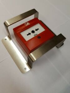 Fire Alarm Call Point Guard Protector Barrier Made in UK! Solid Stainless Steel