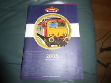 Bachmann 2005 catalogue 00 scale with price list