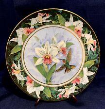 The White-Bellied Woodstars Hummingbird Royal Doulton Decorative Plate