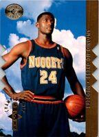 1995-96 SP Championship Championship Shots Card S1 Antonio McDyess Nuggets