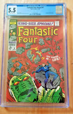 FANTASTIC FOUR ANNUAL #6 1st ANNIHILUS Franklin Richards 1968 *CGC 5.5 OW TO WP*
