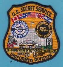 US SECRET SERVICE UNIFORMED DIVISION POLICE  COUNTER SNIPER SHOULDER PATCH