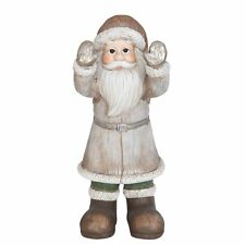 Clayre&eef Santa Claus Window Watcher Deco Christmas Shabby