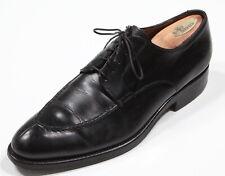 FRANCESHETTI Black Split toe Leather Lace up Italy Oxford Shoes 42.5 US 9.5