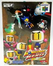 Bomberman Hero - NUS-NBDJ-JPN - CIB Nintendo 64 N64 JAPAN JAP