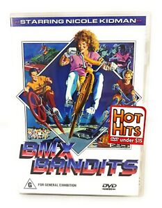 BMX Bandits -1983 - Nicole Kidman Australia  Movie DVD Region 4 Free Postage