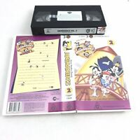 Animaniacs 2 VHS Tape Warner Bothers Bros