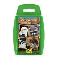North American Wildlife Top Trumps Card Game - BRAND NEW & DIRECT