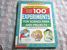 2001 See For Yourself, More than 100 Experiments for Science Fair Projects Cobb