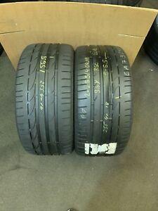 255 40 R 18 95Y Bridgesrone Potenza S001 * Rft Run Flat RSC 2x Tyres 2554018
